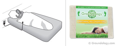 Earthing recovery bag