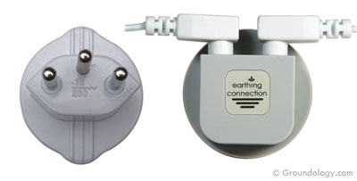 Earth connection plug (Switzerland)