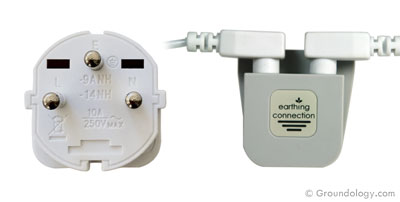 Earth connection plug (Israel)