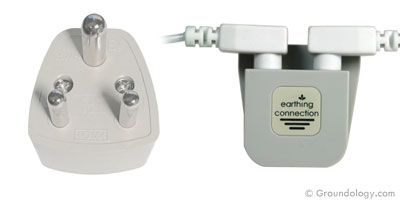 Earth connection plug (India)