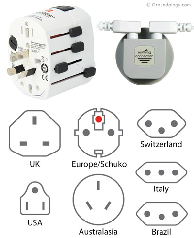 Earth connection plug (Worldwide)