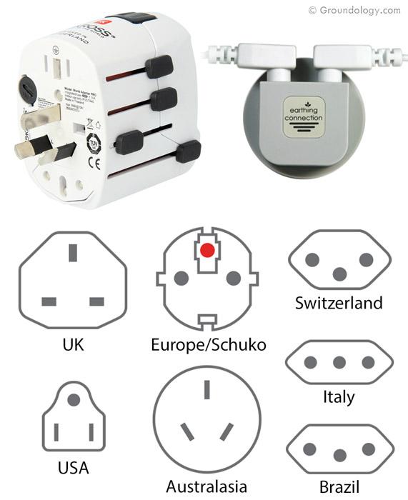 Earth Connection Plug Worldwide