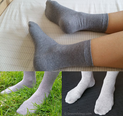 Grounding socks
