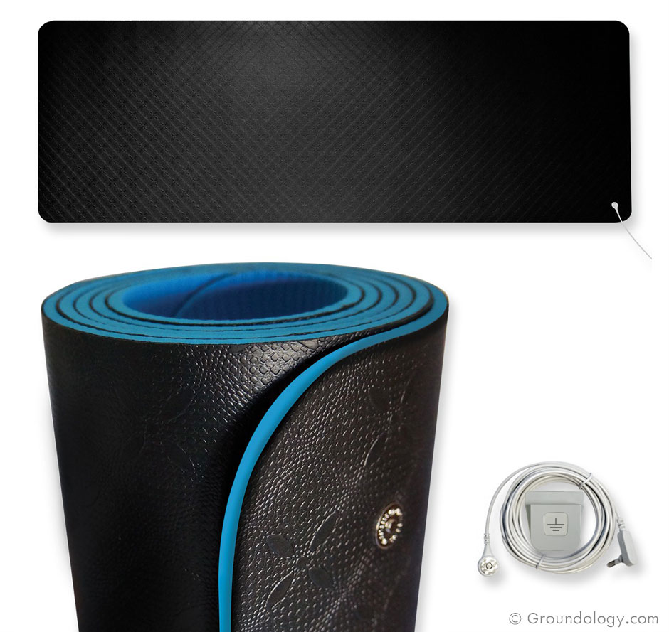 Earthing Yoga And Fitness Mat
